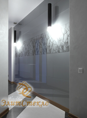 окрашенные стекла в интерьере