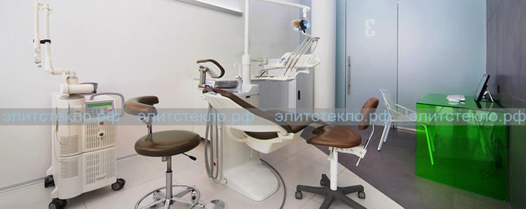 стол из стекла в клинику